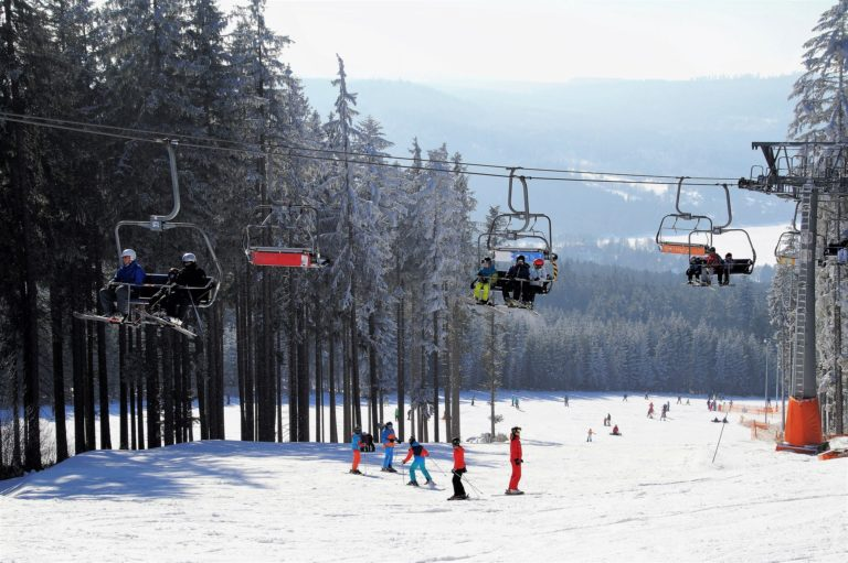 skiing gopro video